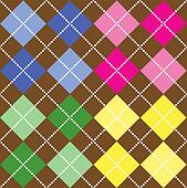 Colorburned | 50 Astonishing Argyle Pattern Swatches for Illustrator
