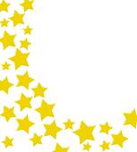 stock illustration of winning gold star border k3188045 search rh fotosearch com Sparkle Star Clip Art Row of Stars Clip Art