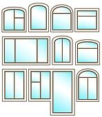 Clip Art Of Set Windows Icon With Glossy Glass K18164649