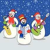 Clipart of winter music k10802541 search clip art illustration christmas concert voltagebd Images