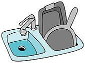 kitchen sink clipart black and white. available as a print kitchen sink clipart black and white t