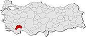 Stock Photograph of Burdur Turkey map airport k21129949 Search
