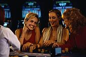 Friends Gambling Together