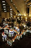 Interior of the Luxor casino Las Vegas, Nevada