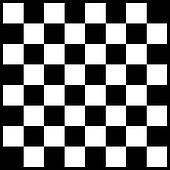 Vector modern chess board background design Clipart