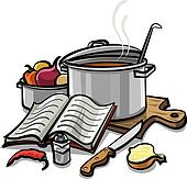 Cooking Clipart | k19022333 | Fotosearch