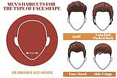 hair style shaped clipart of shape hairstyle k6854342 4852