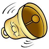 clipart of golden bell k5328721 search clip art illustration rh fotosearch com clip art bell ringers clip art bell pepper plants black and white