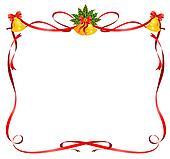 Stock Illustration Weihnachten Rahmen Von Bänder K6310909