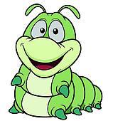 Cartoon worm Clipart | k19468445 | Fotosearch