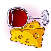 clip art of wine and cheese cartoon k14392797 search clipart rh fotosearch com wine and cheese clip art for free wine and cheese clipart black and white